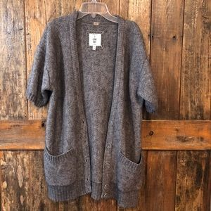 Forever 21, L, Cozy Gray Button Up Cardigan